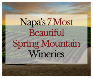 Napa 7 Most Beautiful Spring Mountain Wineries - Sherwin Family Vineyards - Featured Image