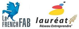 Logo french fab et réseaux entreprendre