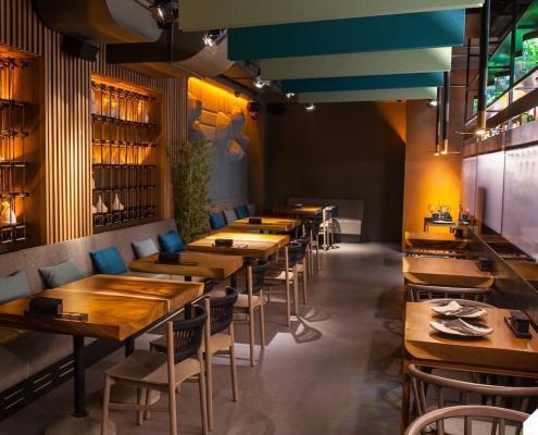 Panneaux acoustiques restaurant