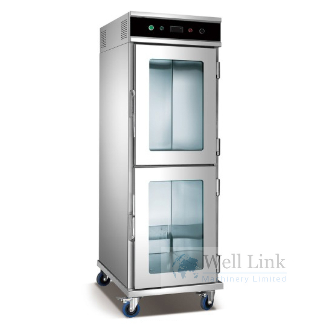 Food warming cart5 traysWLBWC51D  Well Link Machinery