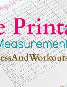 Printable body measurement chart also free  tapp inspired rh wellness and workouts