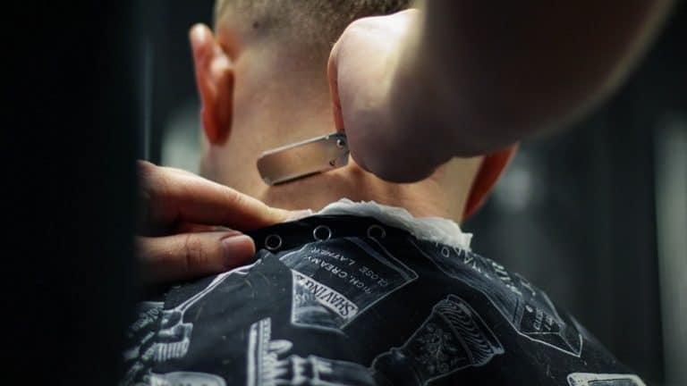 Rasierer Friseur