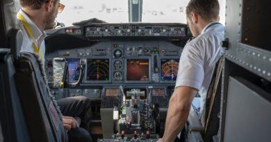 pilotos y aviones