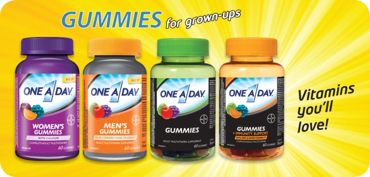 one a day gummies