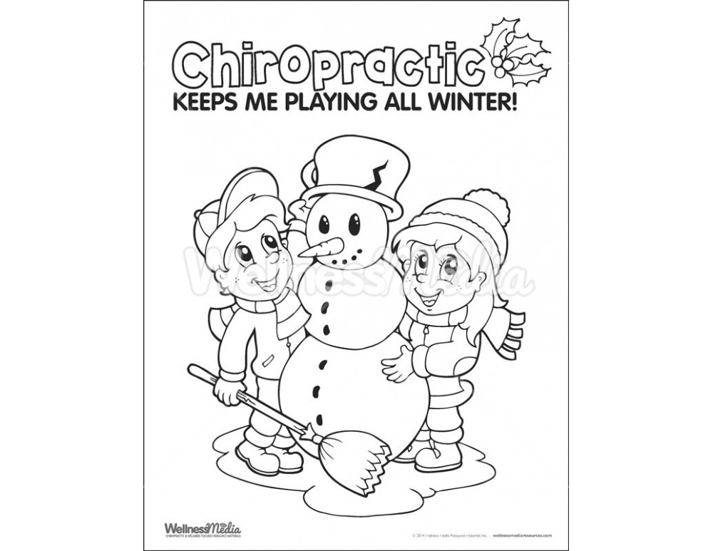 Chiropractic Coloring Book