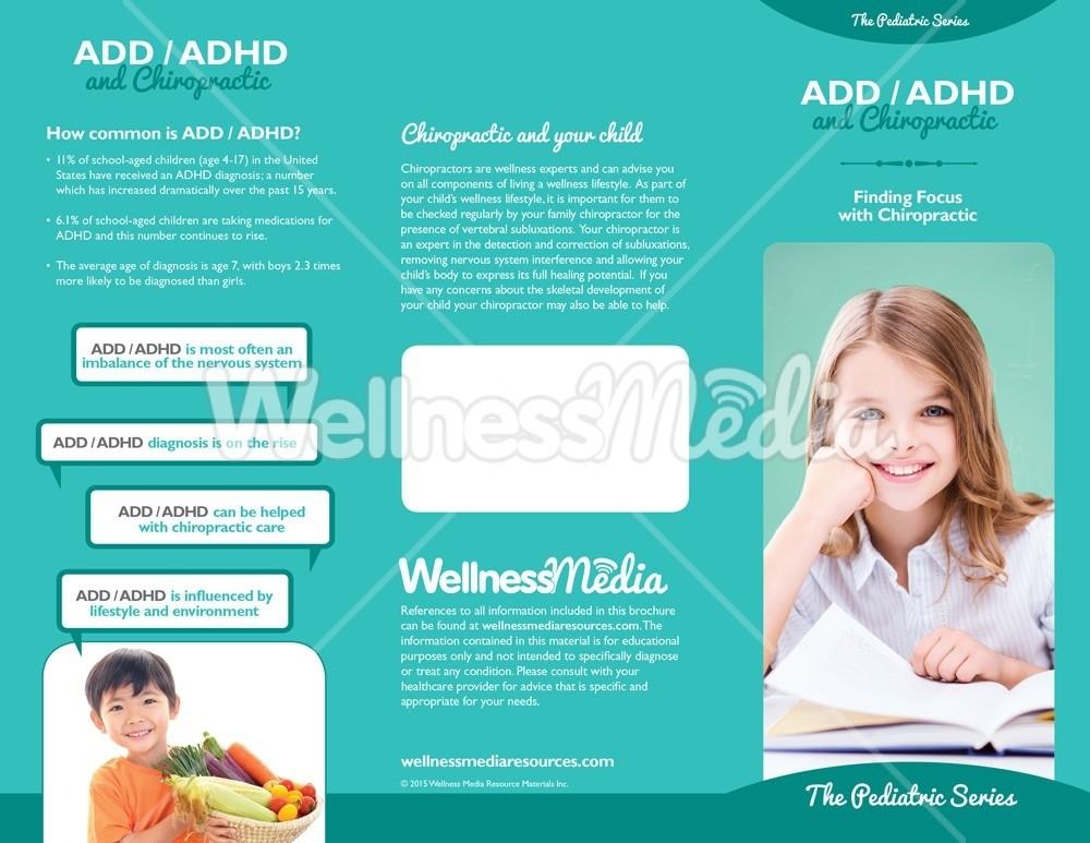 Chiropractic ADHD Brochure