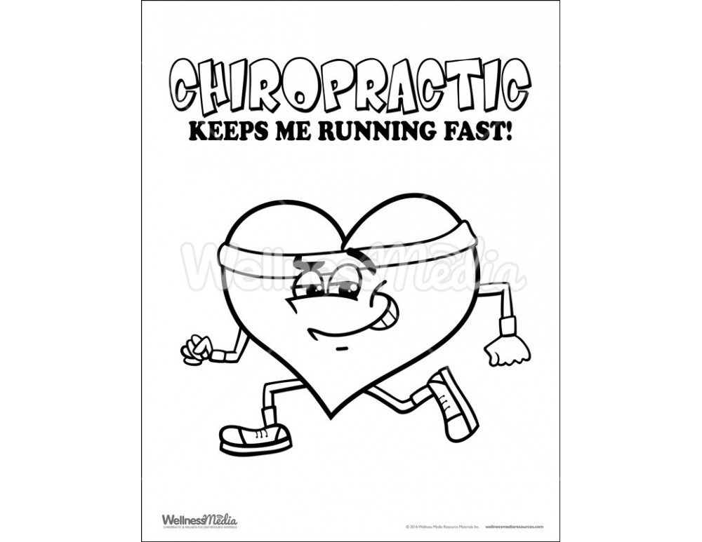 Chiropractic Coloring Page