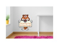 Chiropractic Tiger Wall Art