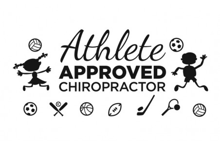 Athlete Approved Chiropractor Decal