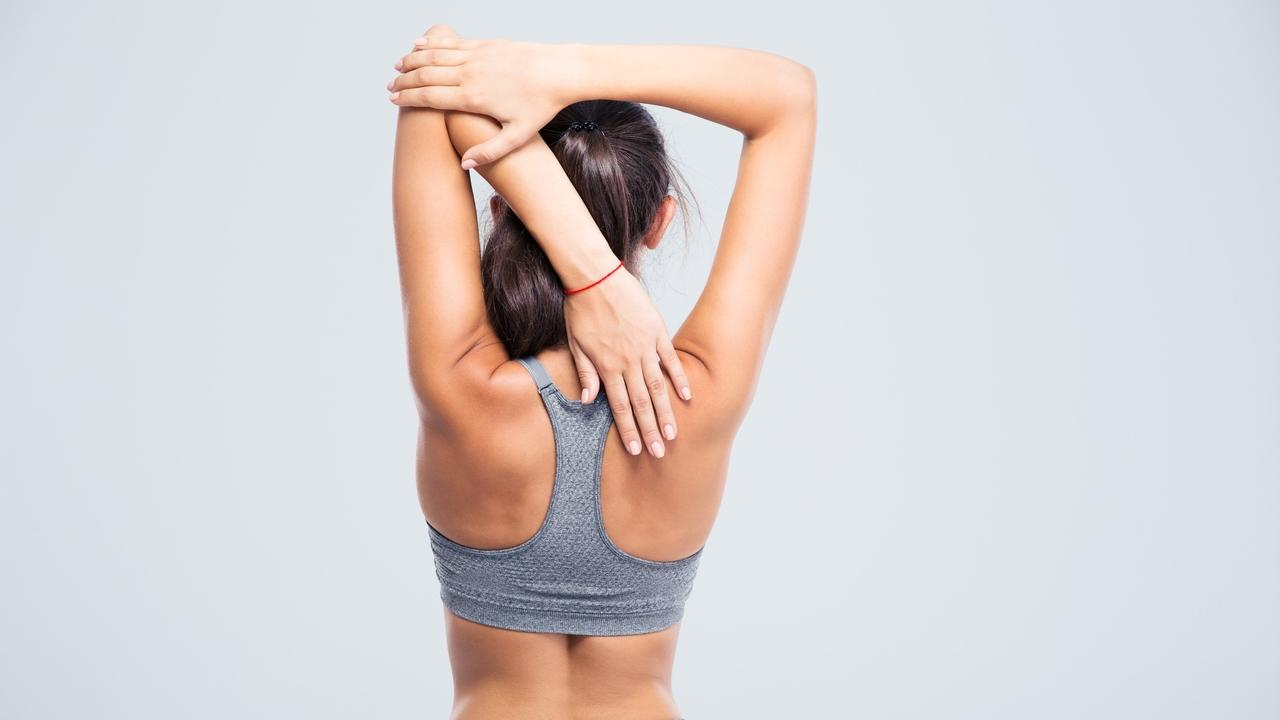 how to get rid of upper back fat