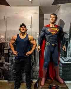 Henry Cavill Superman Workout