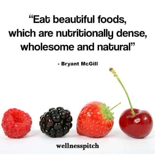 eat beautiful foods