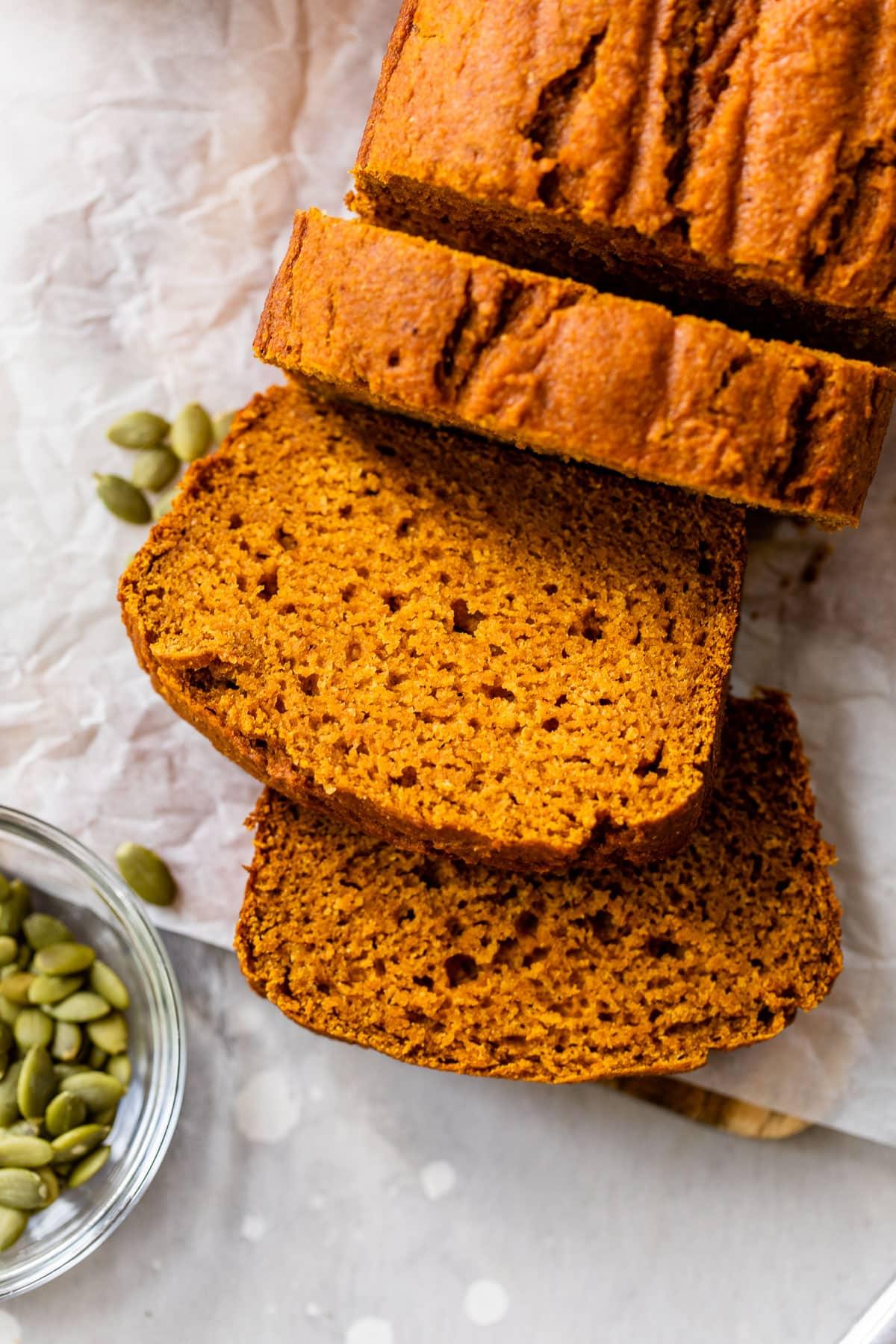 Healthy Pumpkin Bread Recipe  Well Plated by Erin