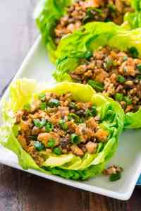 Vegetarian Lettuce Wraps | Copycat PF Changs | Well Plated ...