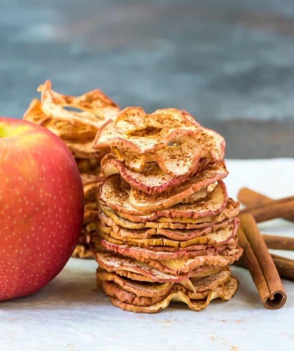 Oven Baked Cinnamon Apple Chips