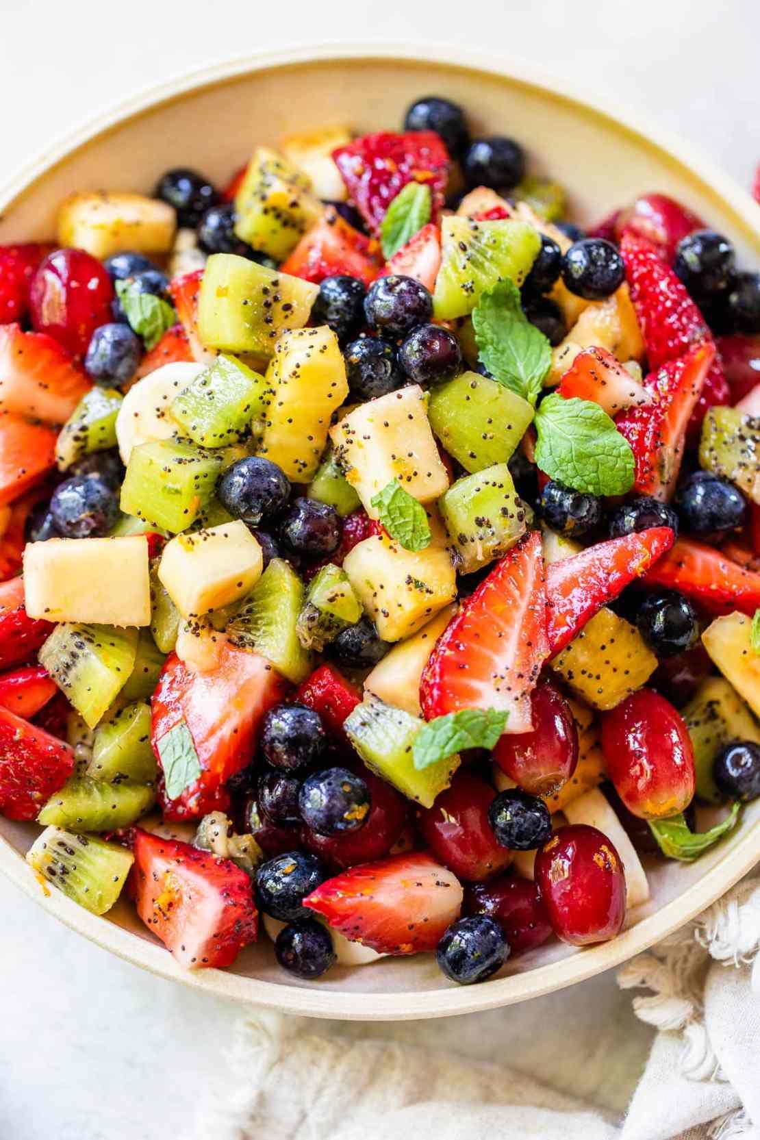 easy fruit salad bowl