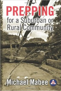 Book cover: Prepping for a Suburban or Rural Community
