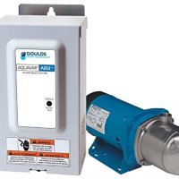 Goulds 3AB2LCB1H2D0 Aquavar2 Variable Speed Constant Pressure System, 3 HP, 208-230 V