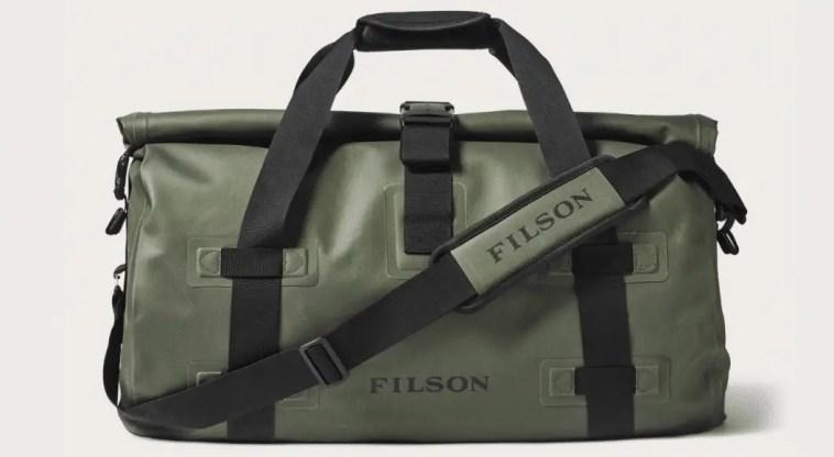 durable filson duffel bag