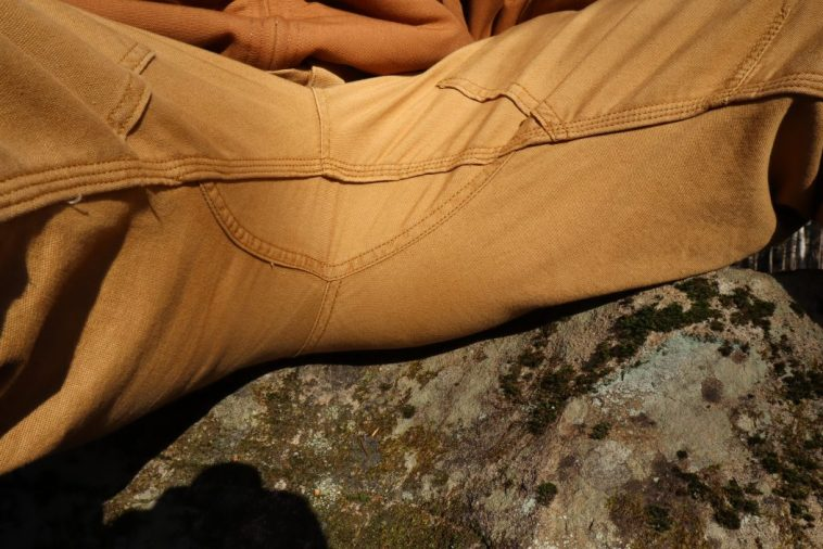 gusseted crotch work pants