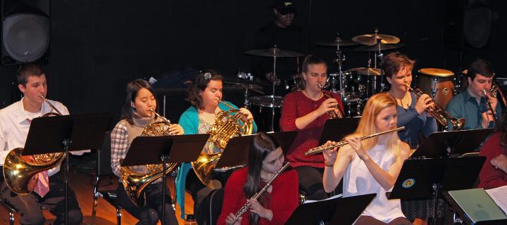 Chamber Orchestra and Jazz Band Spring 2018 Concert  Wells College