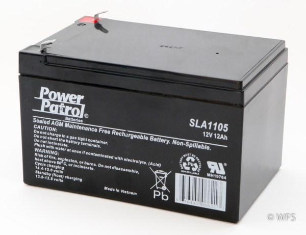 12 Volt Sealed AGM Battery