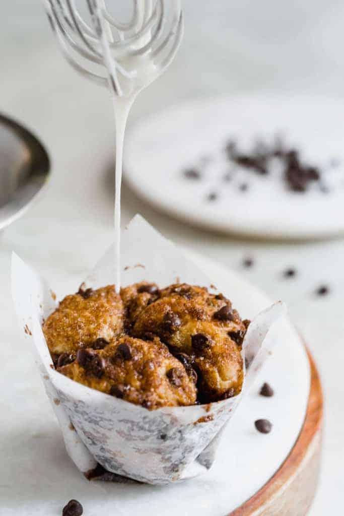 chocolate chip monkey bread muffins!