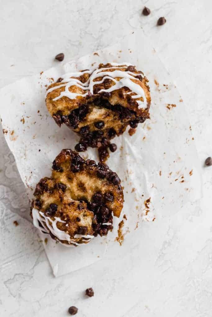 chocolate chip monkey bread muffins