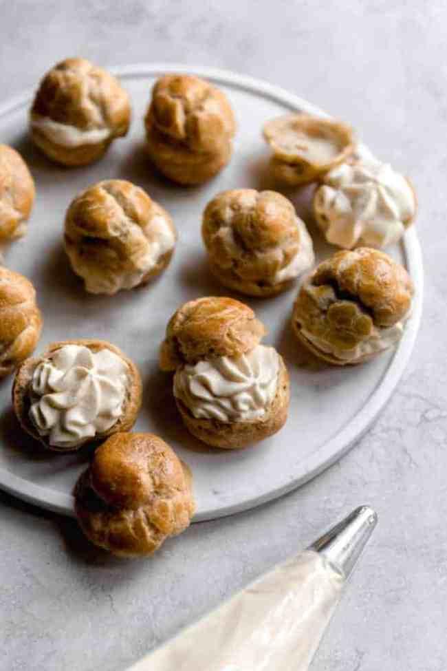 tiramisu cream puffs!