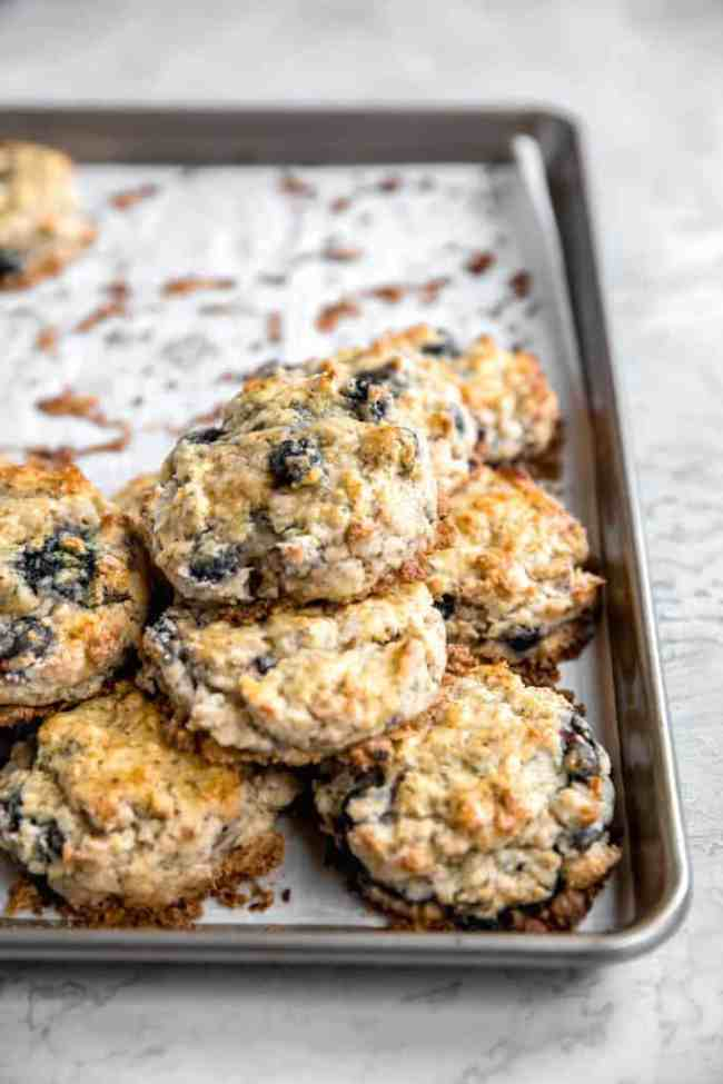 how to freeze blueberry scones