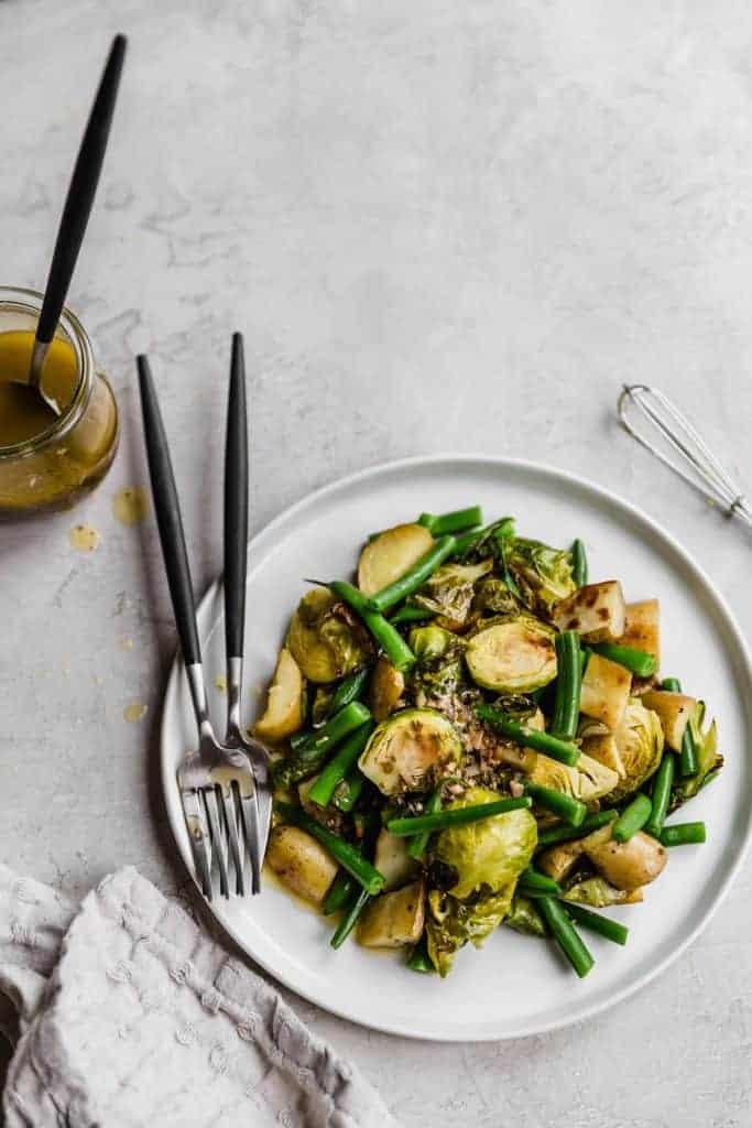 Accidental vegan veggie salad