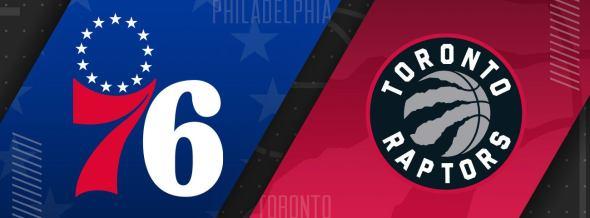 76ers vs Toronto Raptors