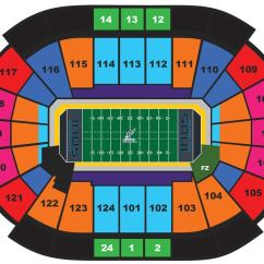 Arena Stage Diagram Allen Bradley 100 D140 Contactor Wiring Seating Charts | Wells Fargo Center