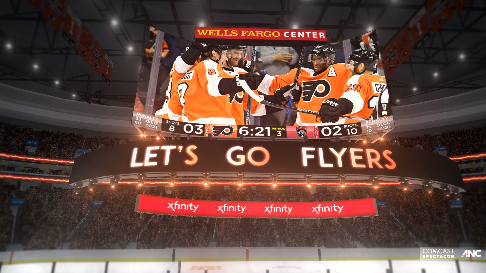 Wells Fargo Center to Introduce the Worlds First Kinetic