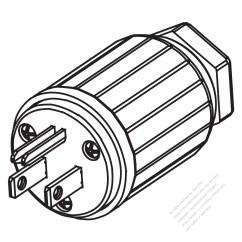 Usa Plug Wiring Diagram Standard 7 Pin Trailer Canada Nema 5 15p 3 Straight Blade 2 P