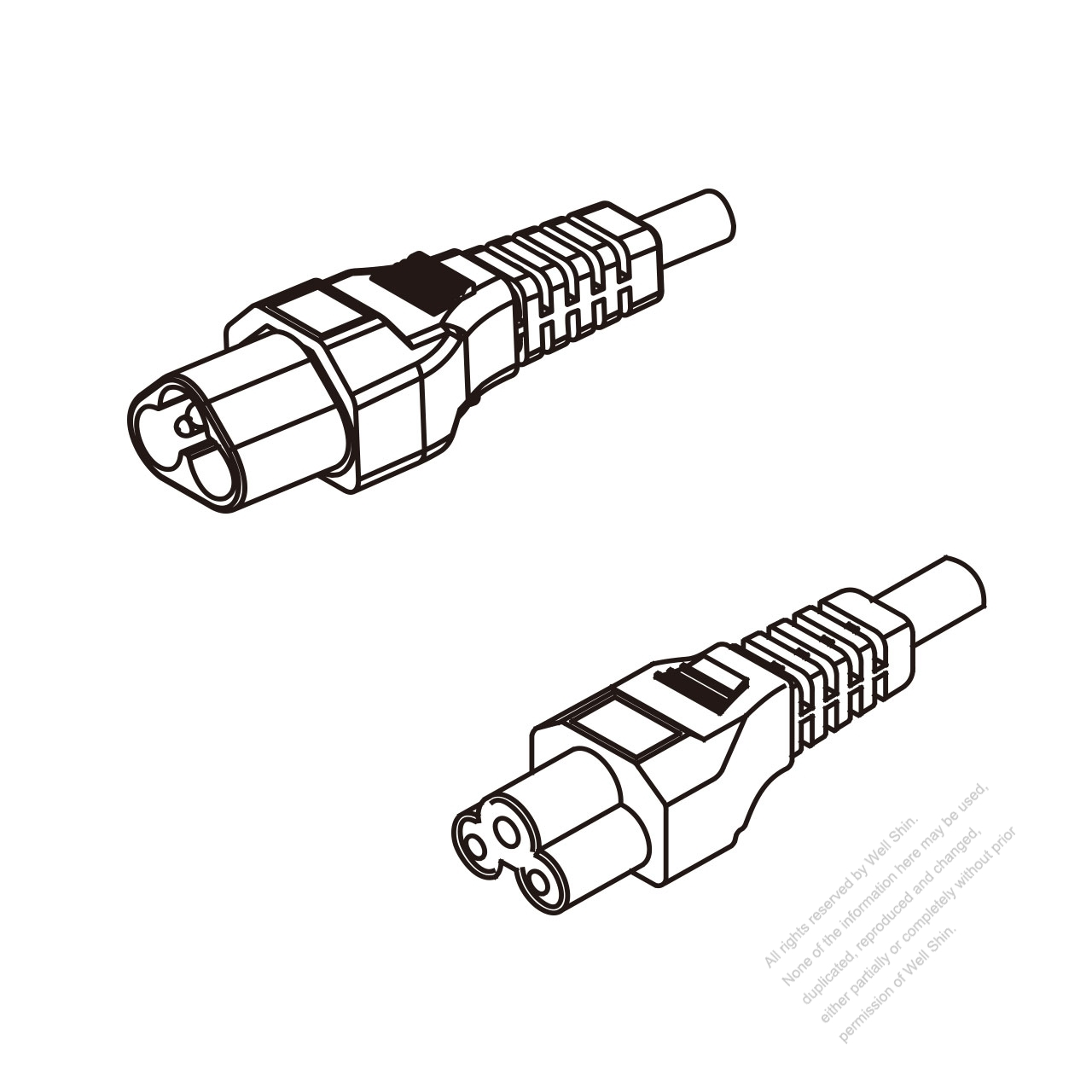 hight resolution of europe 3 pin iec 320 sheet a plug to iec 320 c5 ac power cord