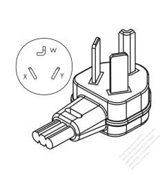 usa canada nema 10 30p 3 p 3 wire non grounding [ 1280 x 1280 Pixel ]