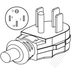 Wiring Diagram For Nema 14 50r Receptacle 24v Trailer Socket 30 Outlet And Fuse Box