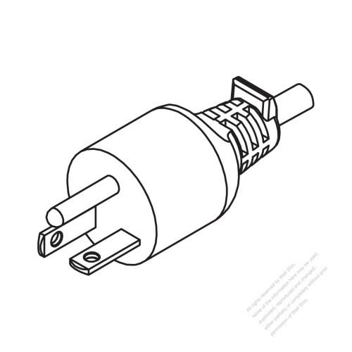 small resolution of usa canada nema 6 20p straight ac plug 2 p 3 wire