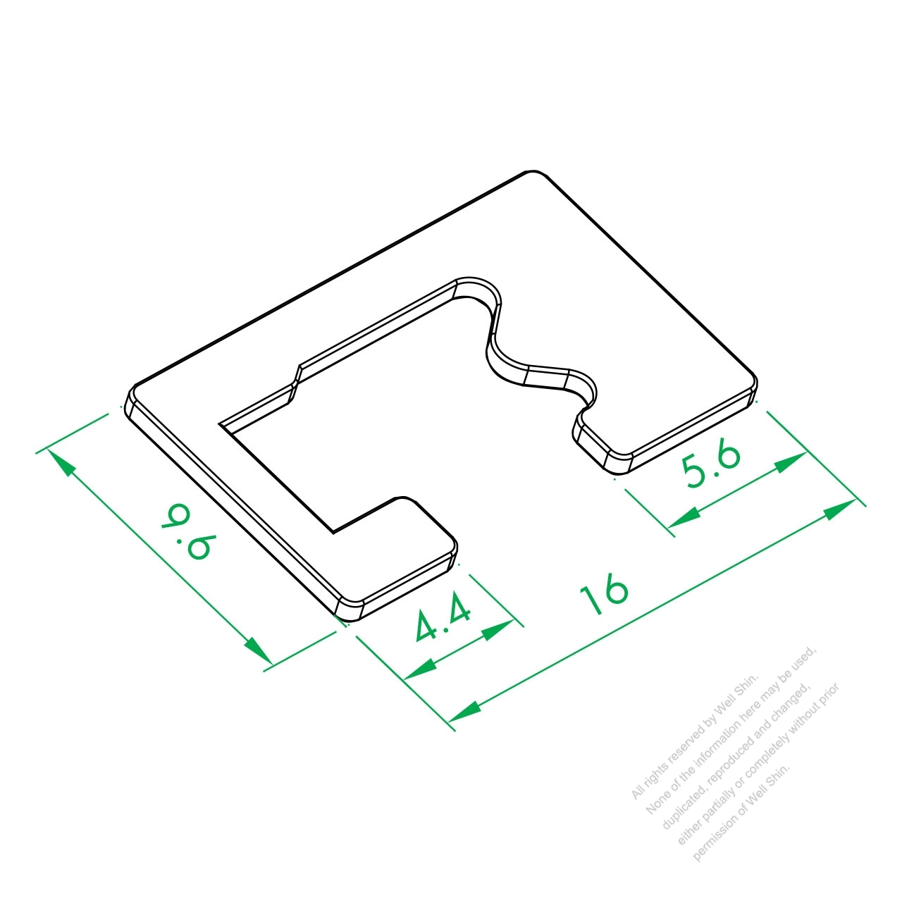 Ws 243 1 Switch Contact Plate