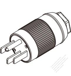 usa canada plug nema 14 50p 4 pin 3 p  [ 1280 x 1280 Pixel ]