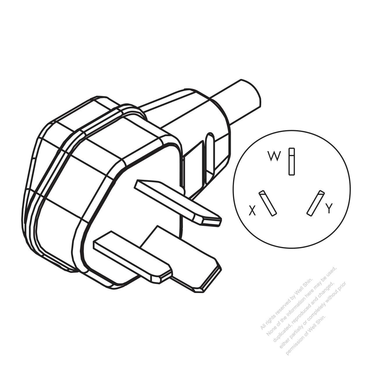 hight resolution of usa canada nema10 50p 3 p 3 wire non grounding