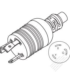taiwan japan nema l6 30p 2 p 3 wire grounding 20  [ 1280 x 1280 Pixel ]