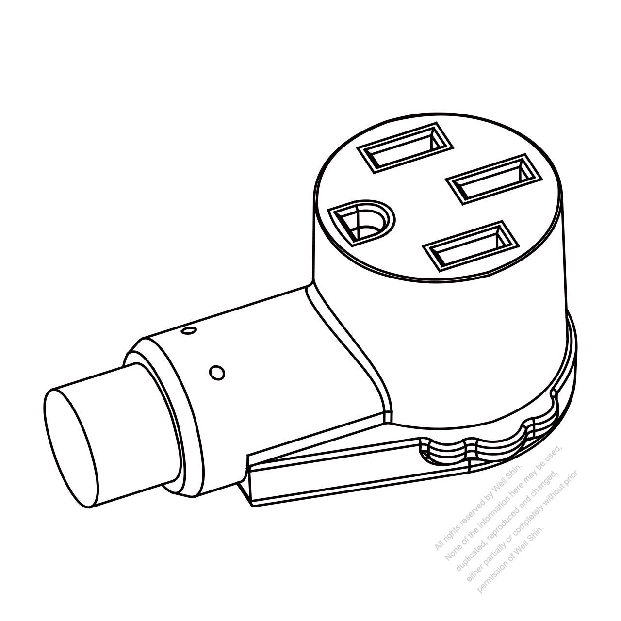 8 Pin Connector