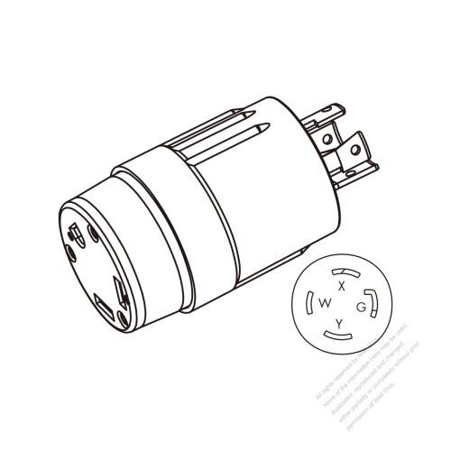 small resolution of rv adapter plug nema l14 30p to tt 30r 2 p