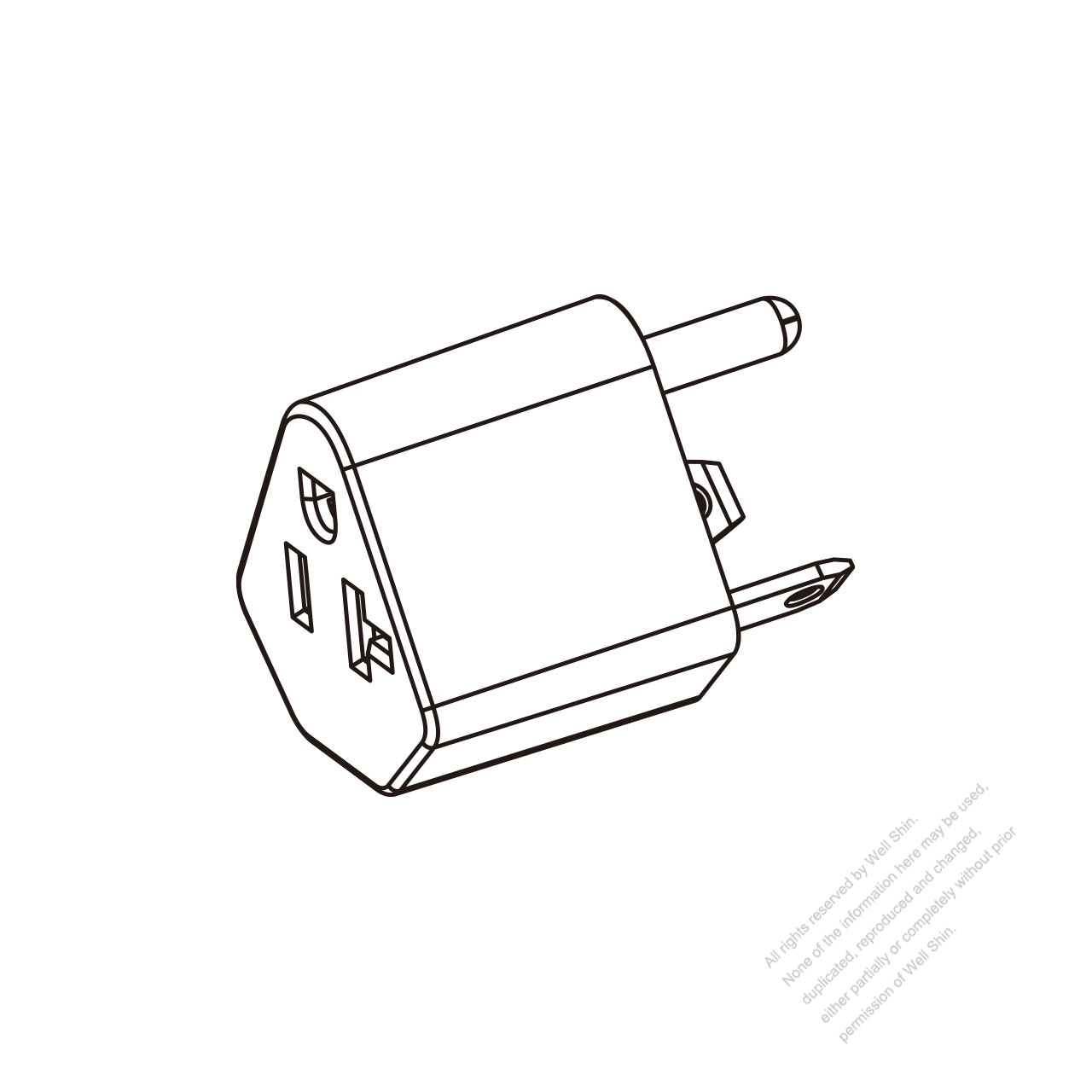 Rv Adapter Plug Nema Tt 30p To 5 20r 2 P 3 Wire