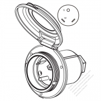 Recessed Male Plug, Recessed, Free Engine Image For User