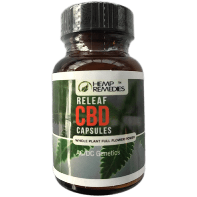 Hemp Remedies CBD Capsules