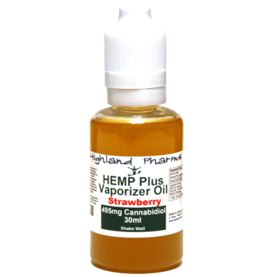 HIGHLAND PHARMS 30ML VAPE OIL STRAWBERRY