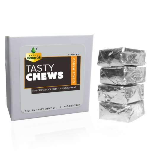Tasty Chews CBD Edibles Caffeine